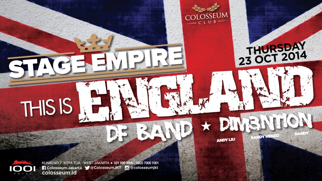 Stage Empire: THIS IS ENGLAND