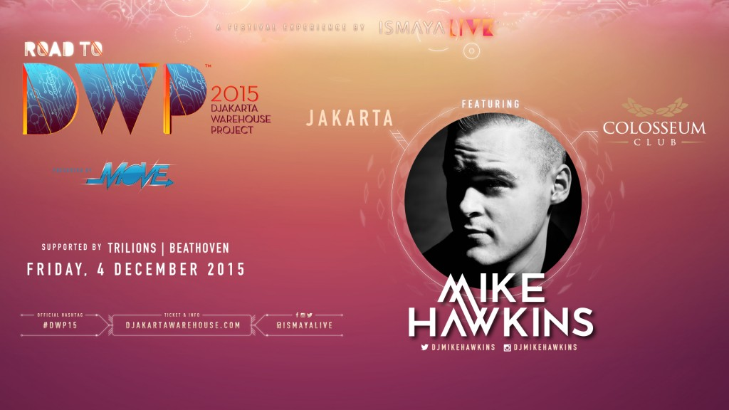 Cirque D'Colosseum: ROAD TO DWP 2015 – MIKE HAWKINS