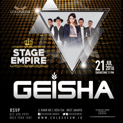 Colosseum Club Jakarta Event - GEISHA