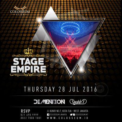 Colosseum Club Jakarta Event - DIMENTION