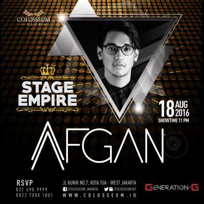 Colosseum Club Jakarta Event - AFGAN