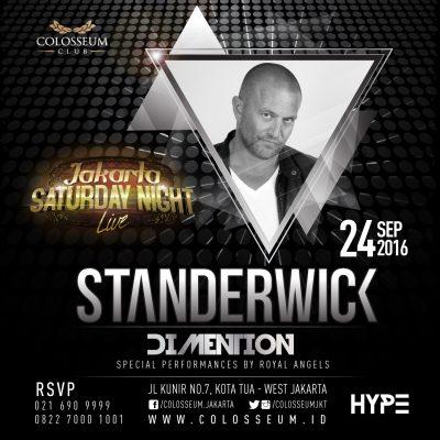 Colosseum Club Jakarta Event - STANDERWICK