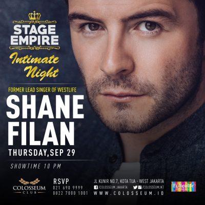 Colosseum Club Jakarta Event - SHANE FILAN