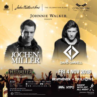 Colosseum Club Jakarta Event - JOCHEN MILLER – DAVID GRAVELL