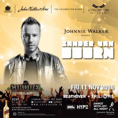 Colosseum Club Jakarta Event - SANDER VAN DOORN