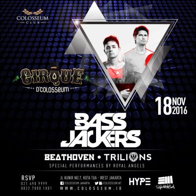 Colosseum Club Jakarta Event - BASSJACKERS