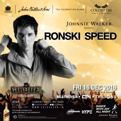 Colosseum Club Jakarta Event - RONSKI SPEED