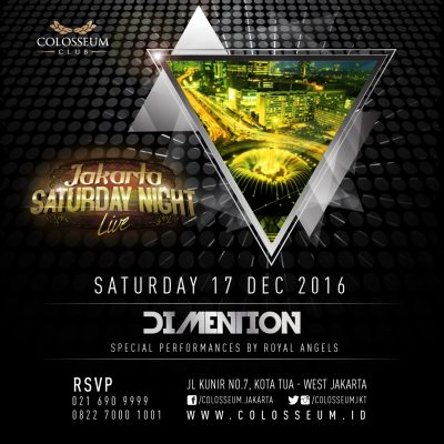 Colosseum Club Jakarta Event - DIMENTION