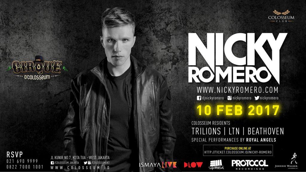 Cirque D'Colosseum: NICKY ROMERO