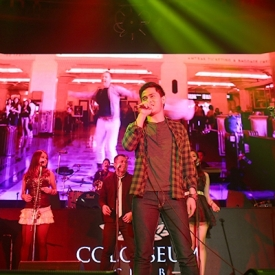 Sandhy Sandoro with Cakra Khan