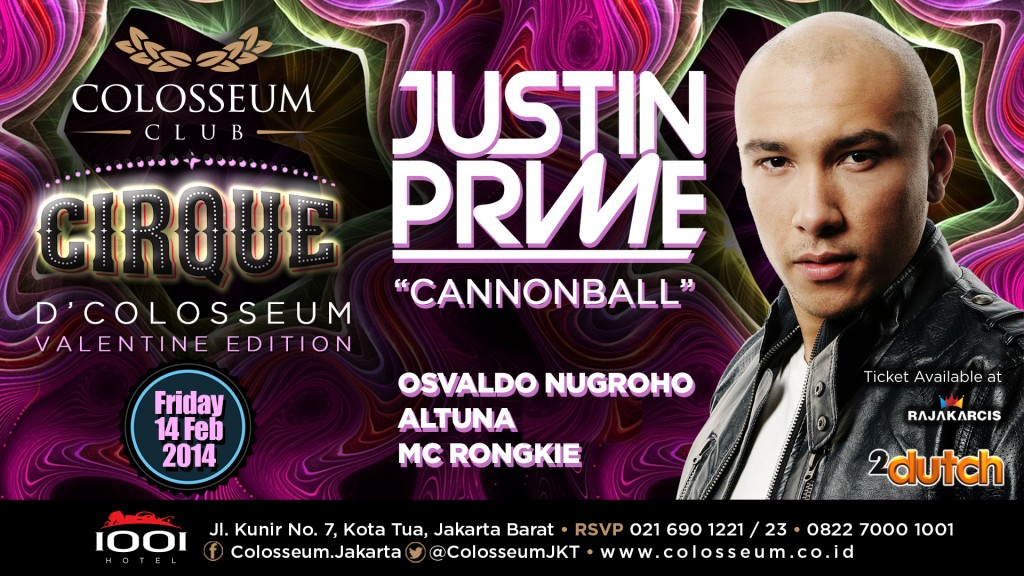 Justin Prime – Cannon Ball
