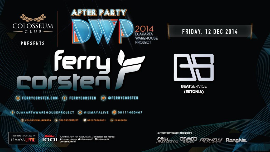 AFTER PARTY DWP 2014