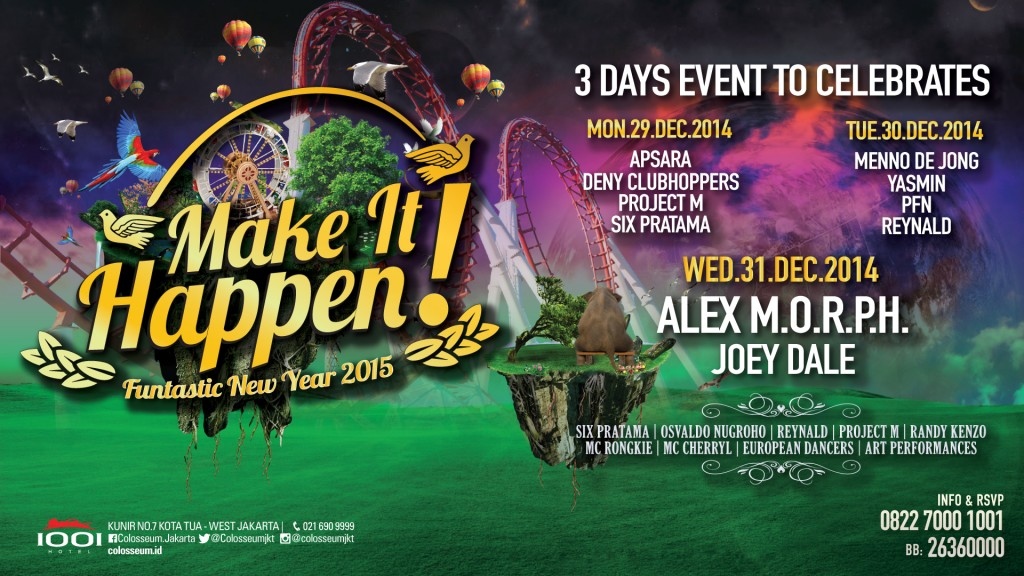 MAKE IT HAPPEN! Funtastic New Year 2015