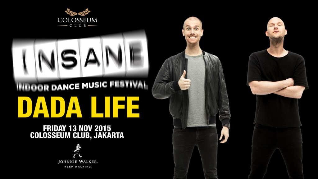 INSANE INDOOR DANCE MUSIC FESTIVAL 2015 WITH DADA LIFE