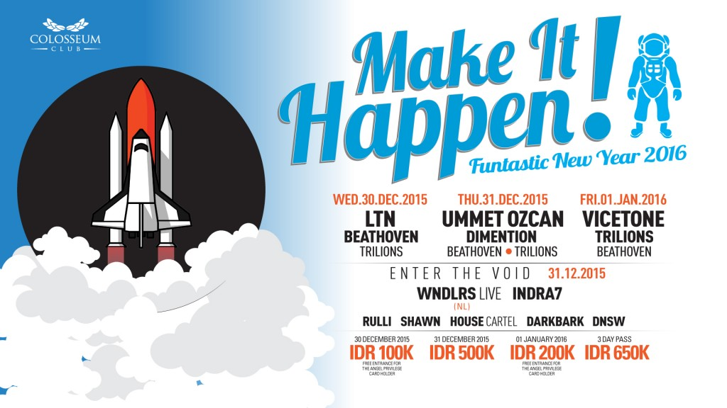 MAKE IT HAPPEN! FUNTASTIC NEW YEAR 2016 (DAY 1)