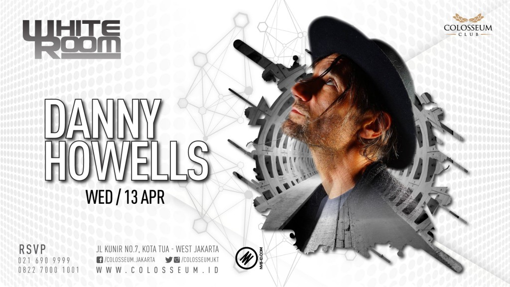 WHITE ROOM – DANNY HOWELLS