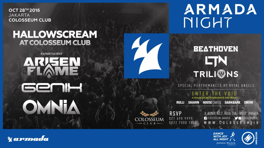 HALLOWSCREAM x ARMADA NIGHT