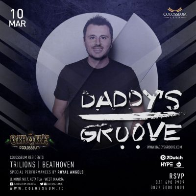 Colosseum Jakarta Event - DADDY'S GROOVE