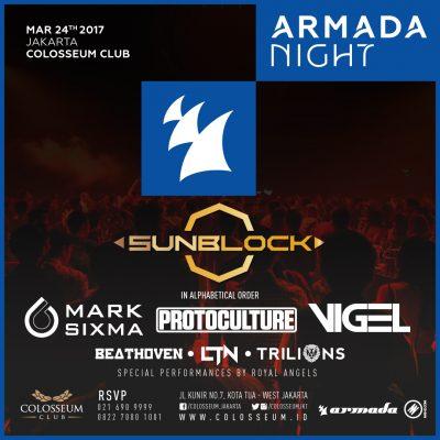 Colosseum Jakarta Event - SUNBLOCK X ARMADA NIGHT