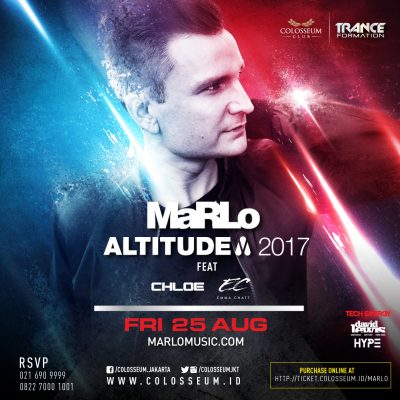Colosseum Jakarta Event - MARLO: ALTITUDE 2017