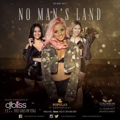 Colosseum Jakarta Event - NO MAN'S LAND
