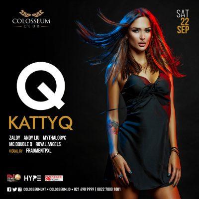 Colosseum Jakarta Event - KATTY Q