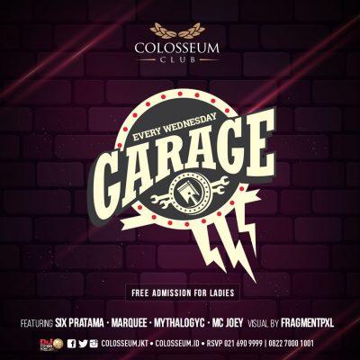 Colosseum Jakarta Event - GARAGE