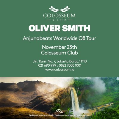Colosseum Jakarta Event - OLIVER SMITH