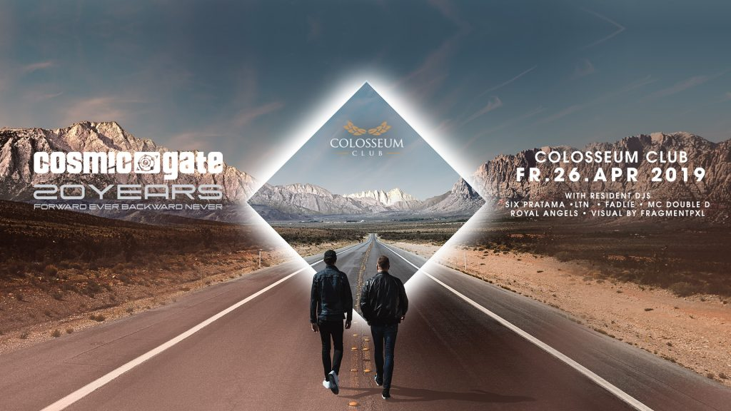 COSMIC GATE; 20 YEARS