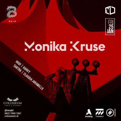 Colosseum Jakarta Event - ENTER THE VOID; MONIKA KRUSE