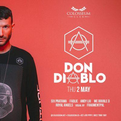 Colosseum Jakarta Event - DON DIABLO