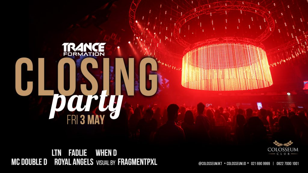 TRANCEFORMATION – CLOSING PARTY