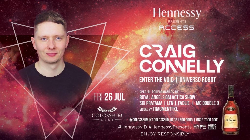 Hennessy Access; Craig Connelly