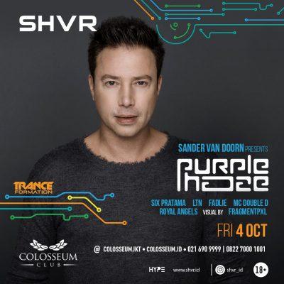 Colosseum Jakarta Event - PURPLE HAZE