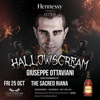 Colosseum Jakarta Event - hallow scream
