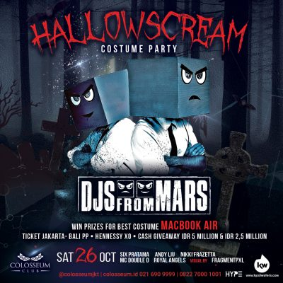 Colosseum Jakarta Event - HALLOWSCREAM